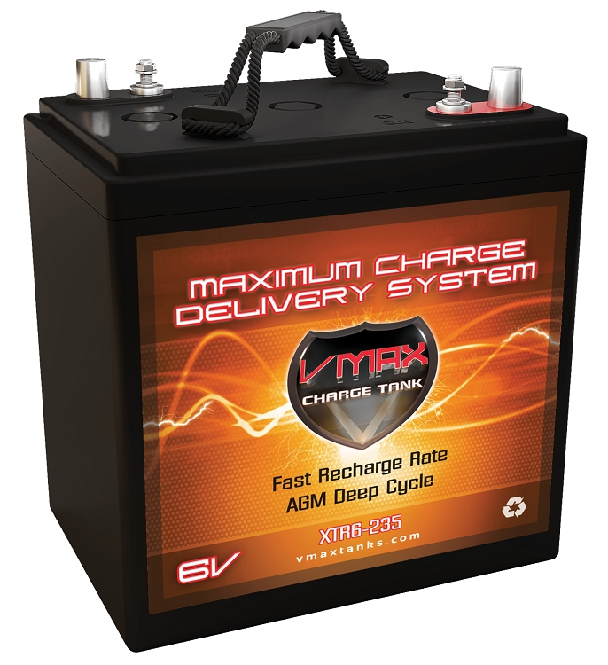 Xtr6 235 6volts 235ah Deep Cycle Xtreme Agm Battery
