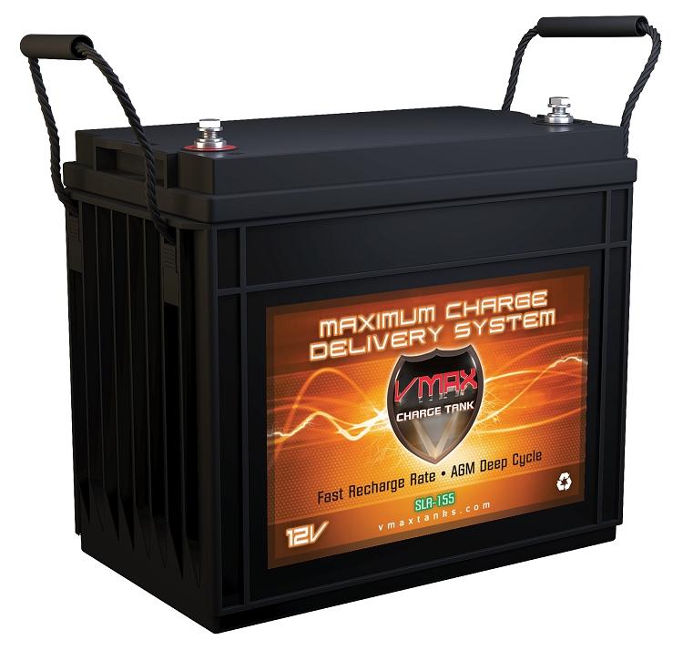 Slr155 Agm Solar Battery