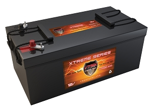 XTR8D-310 12Volts 310AH Deep Cycle, XTREME AGM Battery.
