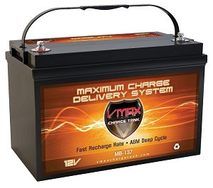 MB137-120  Deep Cycle, High performance AGM Battery.