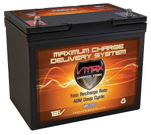 MR107-85 Deep Cycle, High performance 85AH AGM Battery