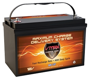 MR137-120  Deep Cycle, High performance AGM Battery