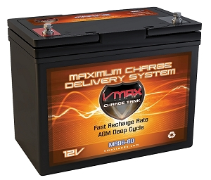 MR96-60 Deep Cycle, High performance AGM Battery