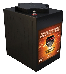 V6-225  6Volts 225AH  Deep Cycle, High performance AGM Battery.