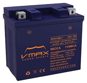 XCA100L7 80CCA,210PHCA/7ah Battery