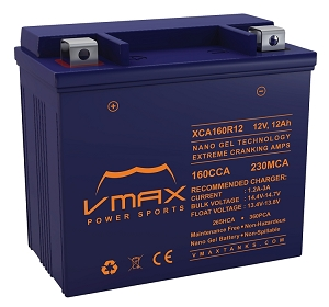 XCA160R12 160CCA,360PHCA/12ah Battery