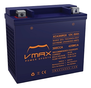 XCA300R20 300CCA, 695PHCA/20ah Battery