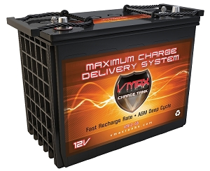 XTR12-155  12Volts 155AH  Deep Cycle, XTREME AGM Battery.