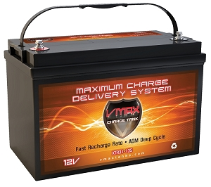 XTR31-135  12Volts 135AH  Deep Cycle, XTREME AGM Battery.