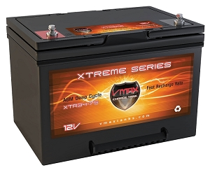 XTR34-75 12Volts 75AH Deep Cycle, XTREME AGM Battery.
