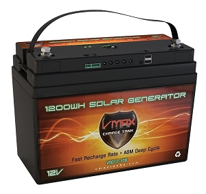 VSG12B 12Volts 1300WH,100ah Battery