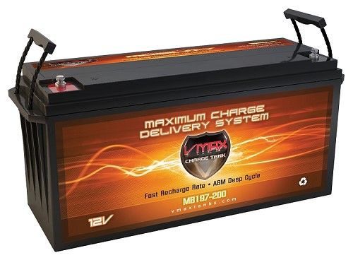 MB197-200 Deep Cycle, High performance AGM Battery.