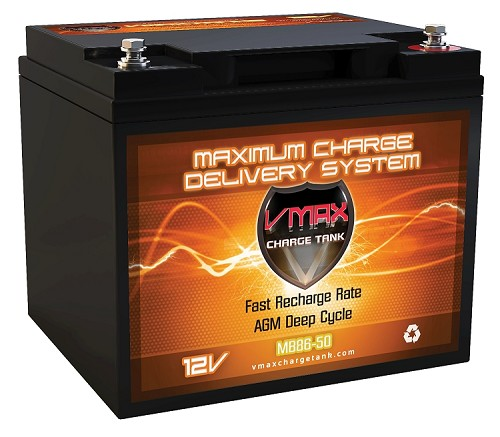 MB86-50 Deep Cycle, High performance AGM Battery.