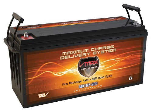 MR197-200 Deep Cycle, High performance AGM Battery