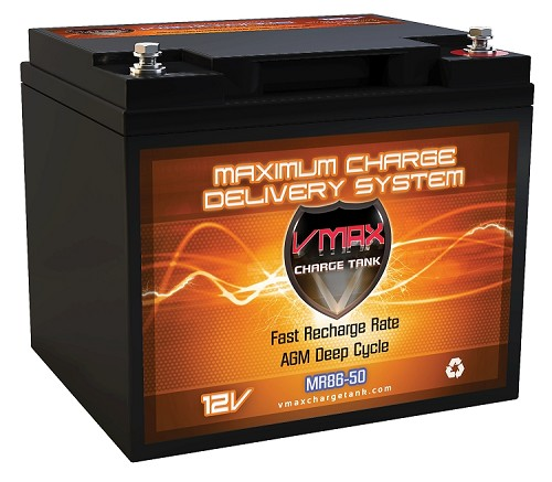 MR86-50  Deep Cycle, High performance AGM Battery