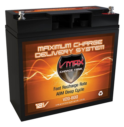 V20-600  Deep Cycle, High performance AGM Battery.