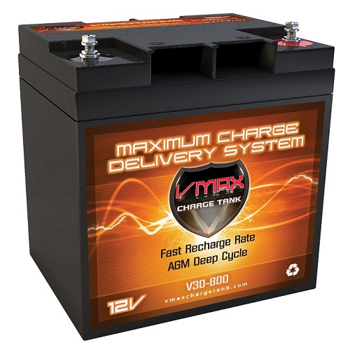 V30-800   Deep Cycle, High performance AGM Battery.