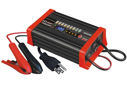 BC8S1210A 12V 10A 8 Stage Smart Battery Charger / Maintainer