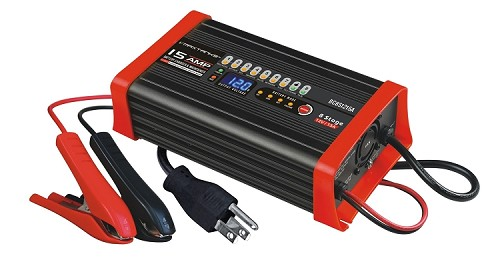 BC8S1215A 12V 15A 8 Stage Smart Battery Charger / Maintainer
