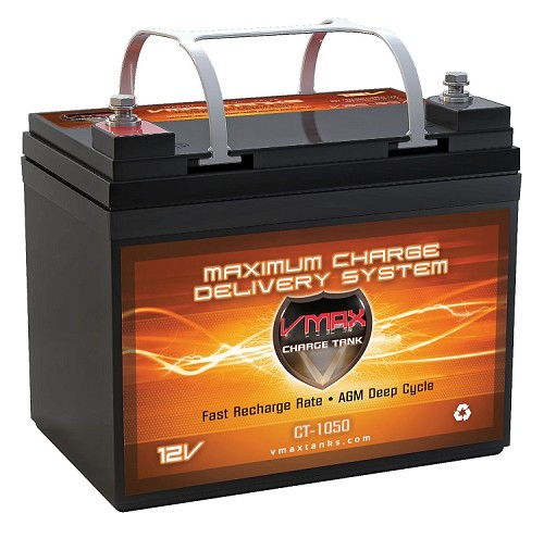 CT1050  1050Wrms / 2100Wmax AGM Audio System 40AH Charge Tank.