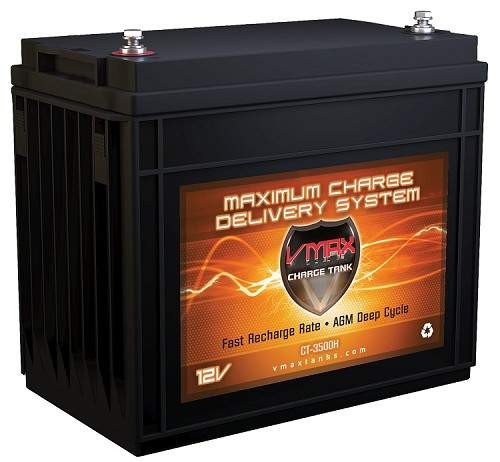 CT3500H 3500Wrms / 7000Wmax  AGM Audio System Charge Tank