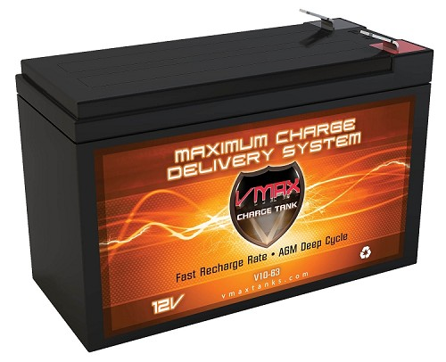 V10-63 Deep Cycle, High performance AGM Battery