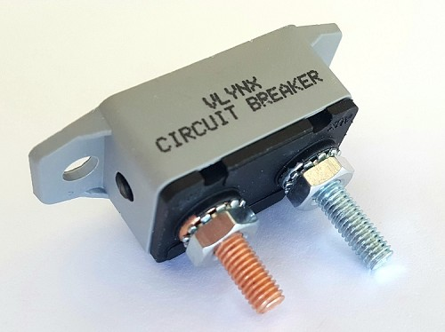30A 6V-28V Mini Waterproof Circuit Breaker