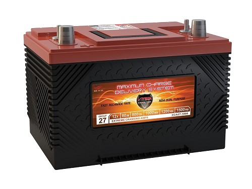 XCA27-1000 Xtreme Cranking Amps Deep Cycle AGM Battery