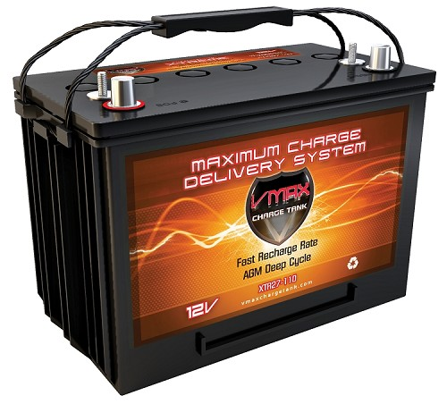 XTR27-110  12Volts 110AH  Deep Cycle, XTREME AGM Battery.