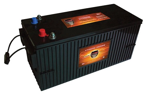 XTR8D-350 12Volts 350AH  Deep Cycle, XTREME AGM Battery.